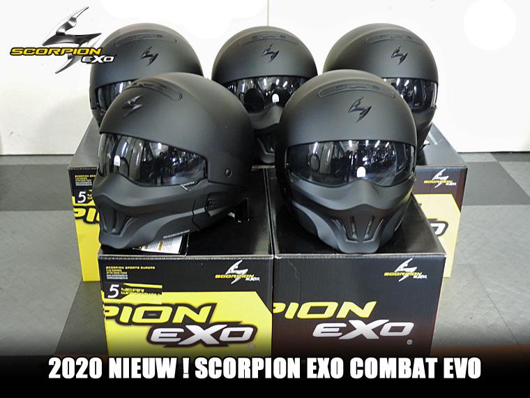 scorpion exo combat evo helmen