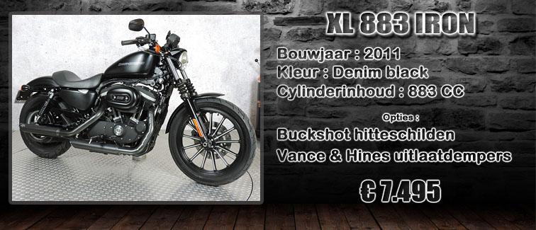 XL883 iron uit 2011 te koop bij Harliepleats