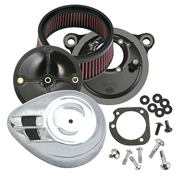S&S Stealth air cleaner kits met cover