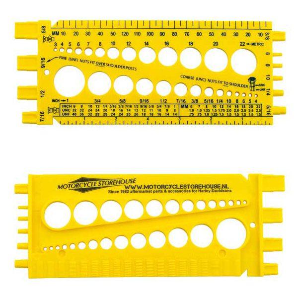 Amerikaanse schroefdraad herkenner tool 985236